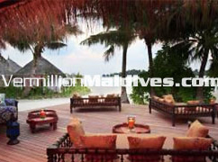 Dine at house's deck. Private Vacations spots in Luxury Resort Naladu