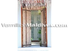 House Entrance at Naladhu Maldives - Luxury Holiday accommodation