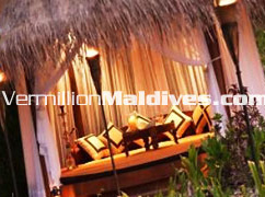 Private Beach Cabanna at Naladhu Maldives – Honeymoon Retreat for Lovers