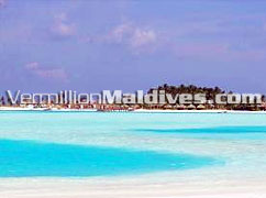 Naladhu Maldives from a distance : Exclusive luxury Deluxe Resort