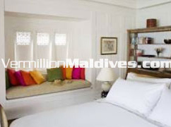 Naladhu house bedroom – a very private holiday resort hotel in Maldives