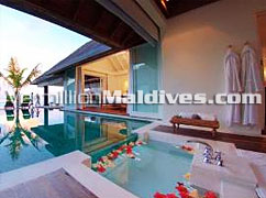 Sexy and Modern Style Resort.  Book you stay here in Naladhu Maldives