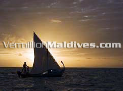 Sunset Cruise at Naladu Maldives during your vacation time