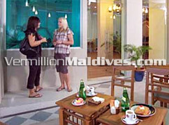 Restaurant of Beehive Nalahiya Hotel  in Male' – Overnight Hotel in Male