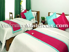 Twin beds Or Double beds - Your request will be fulfilled in Beehive Nalahiya Hotel Male