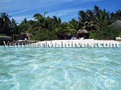 Beautiful beach & crystal Clear Waters at Nika Island., truly Maldives