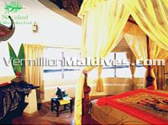 Bedroom: Up class accommodation for a private Honeymoon Vacations