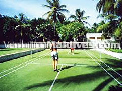 Play a game of badminton or enjoy fun activities such as water sports