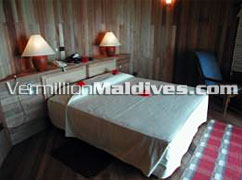 Water Villa Bedroom in Nika Hotel Resort - Maldives Honeymoon Island