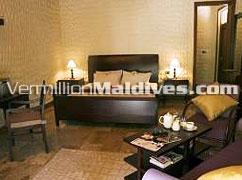 Beach Villas Accommodations of Maldives hotel Olhuveli Beach and Spa