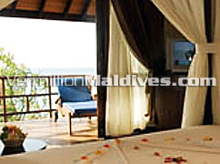 Deluxe Rooms of Olhuveli Island Resort. Special Maldives holiday place