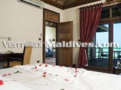 Honeymoon Special Water Villas in Olhuveli Island Resort