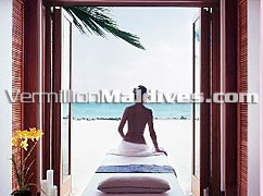 5 star Luxury Spa Resort One & Only Reethi Rah. Choice of many celebrities