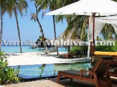 Beach Villa with Pool. The Private Luxury Resort One & Only Reethi Rah Maldives