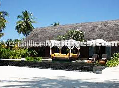 Fabulous private accommodation with pool. one & only maldive vacation island