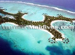 One&Only Reethi Rah Maldives Island Picture. Luxury beach resort hotel