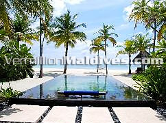 Private Pools in Villa – exotic, lovely & romantic luxurious Maldives holiday resort