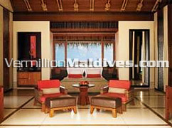 Water Villa accommodation in at hotel Maldives One and Only Reethi Rah