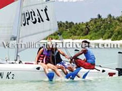 Sail and travel around in a catamaran for a different experience