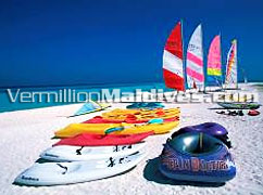 Variety of Sea and beach sports available in Paradise Island Resort Maldives