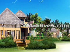 Raffles Konottaa Maldives. A 5 star beautiful resort hotel