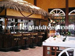 Bar of Ranveli Village and Spa Maldives – four star Resort in Ari Atoll
