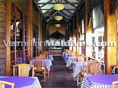 Main Restaurant: Ranveli Maldives Beach Resort for everyone to enjoy