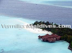 Photo of Maldives resort island. Ranveli Village resort & Spa
