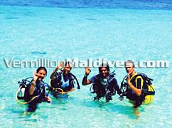 Ranveli Maldives is a diver's choice for excellent Diving