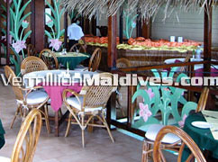Ranveli Resort's restaurant that serves varieties of food