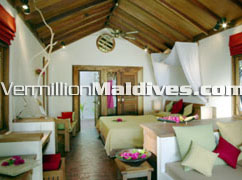 Deluxe Villa picture of hotel Reethi beach resort Maldives