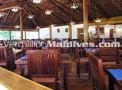 Main Restaurant of Reethi Beach Island Resort Maldives