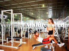 Reethibeach Madlives Gym. be fit and healthy during your holiday