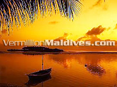 Splendid Sunset views in Maldives