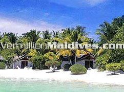Bungalows & rooms from Lagoon at Rihiveli Island