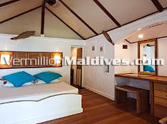 Spacious Deluxe bungalows at Rihiveli for your Maldives vacation