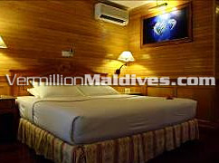 Beautiful five star hotel Royal Island's Beach villa accommodation
