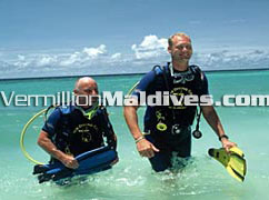 Explore the underwater during your Royal Island stay. Diving Resort of Maldives