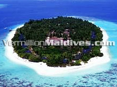 Royal Island Resort & Spa hotel Maldives – Aerial picture