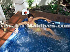 See the deluxe side of Maldives Tourism here at Royal Island Resort hotel