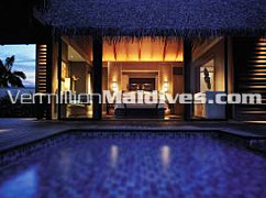 Accommodations with Private Pool at ShangriLa Maldives