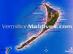 Island Map - Shangri-La Villingili Resort – Maldives