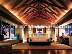 Water Villas at Maldives ShangriLa's Villingili Resort and Spa