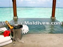 Aquum Spa at the Luxury Maldives beach resort FullMoon