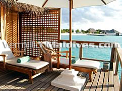 Sheraton Maldives Fullmoon hotels Water bungalow with sundeck