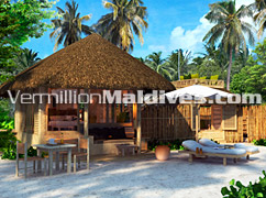 Beach Villas - Private & Exclusive accommodation in Six Senses Latitude Laamu