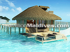 Private and exceptional Water Villas made for Maldives Honeymoon Vacations