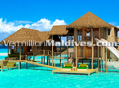 Water Suites at Six Senses latitude Laamu for Luxury Family Hotels vacations in Maldives
