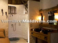 Bathroom -  Jungle Reserve of the Six Senses Resort ,Soneva Fushi in Maldives