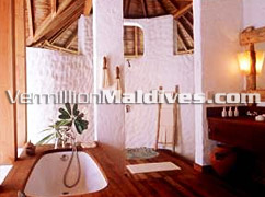 Bathroom Soneva Fushi Villa Suite Maldives Luxury Holidays